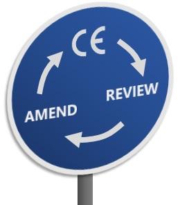 CE Marking Legislation Cycle