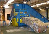 The CE marked waste compactor