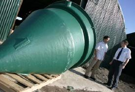 We Build It's CE Mark septic tanks
