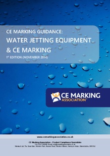 CE Marking and water jetting guide